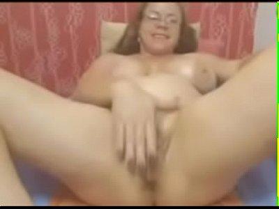 Chubby Grandma Masturbating On Live Cam