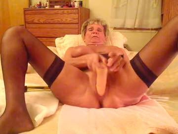 Grandma in pantyhose webcam chat